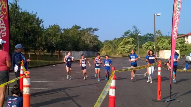 Sunrise Group Finishing with Teammate
