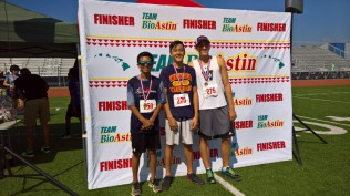 age group winners-HS boys 5K