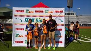 overall 5K winners girls